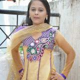 Usha Photos in Salwar Kameez at Gundello Guchi Guchi Champake Movie Press Meet 30