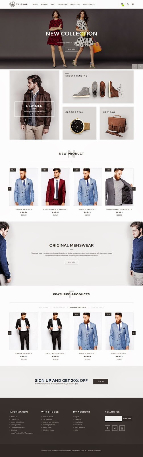 Best eCommerce Templates with Awesome Design