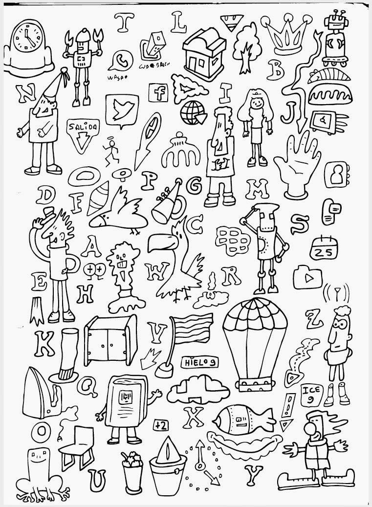 Ilustrador Alexiev Gandman: Paso a paso para colorear los personajes ...
