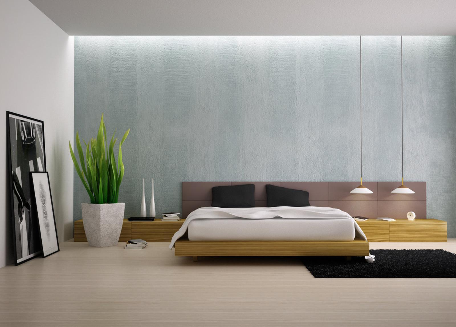 Luxury modern bedroom for Pictures of modern bedrooms
