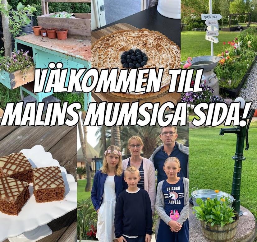 Välkommen till Malins blogg!