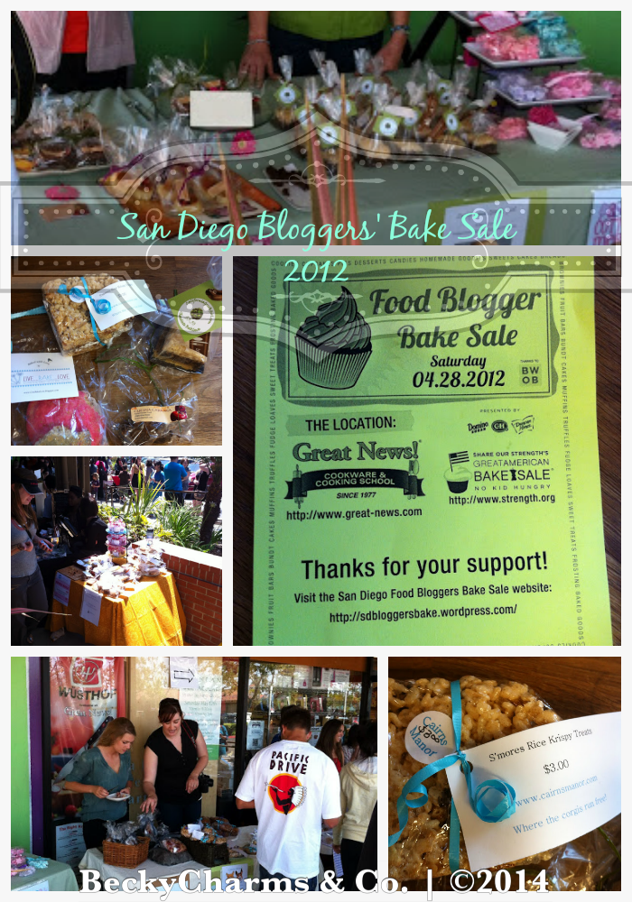 San Diego Food Bloggers' Bake Sale 2014 - Recap from past years by BeckyCharms