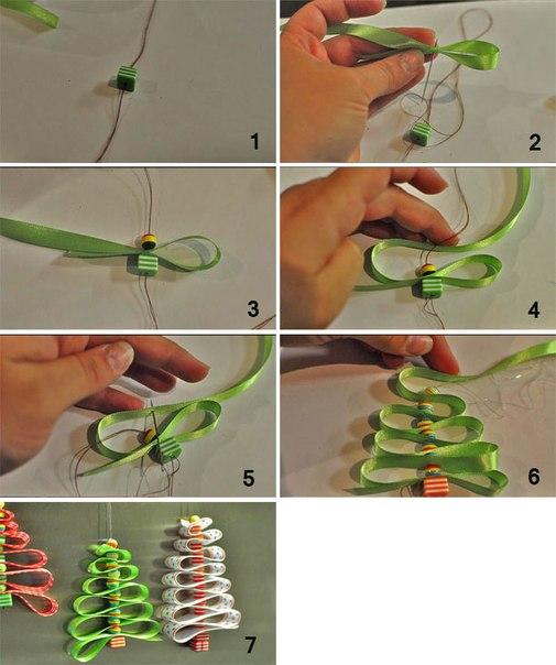 Игрушки на елку легко и быстро