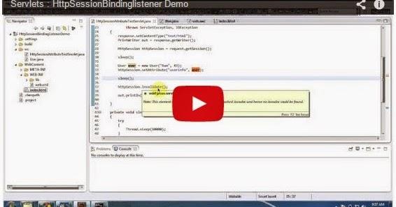Java ee servlets httpsessionbindinglistener demo for Pool design pattern java