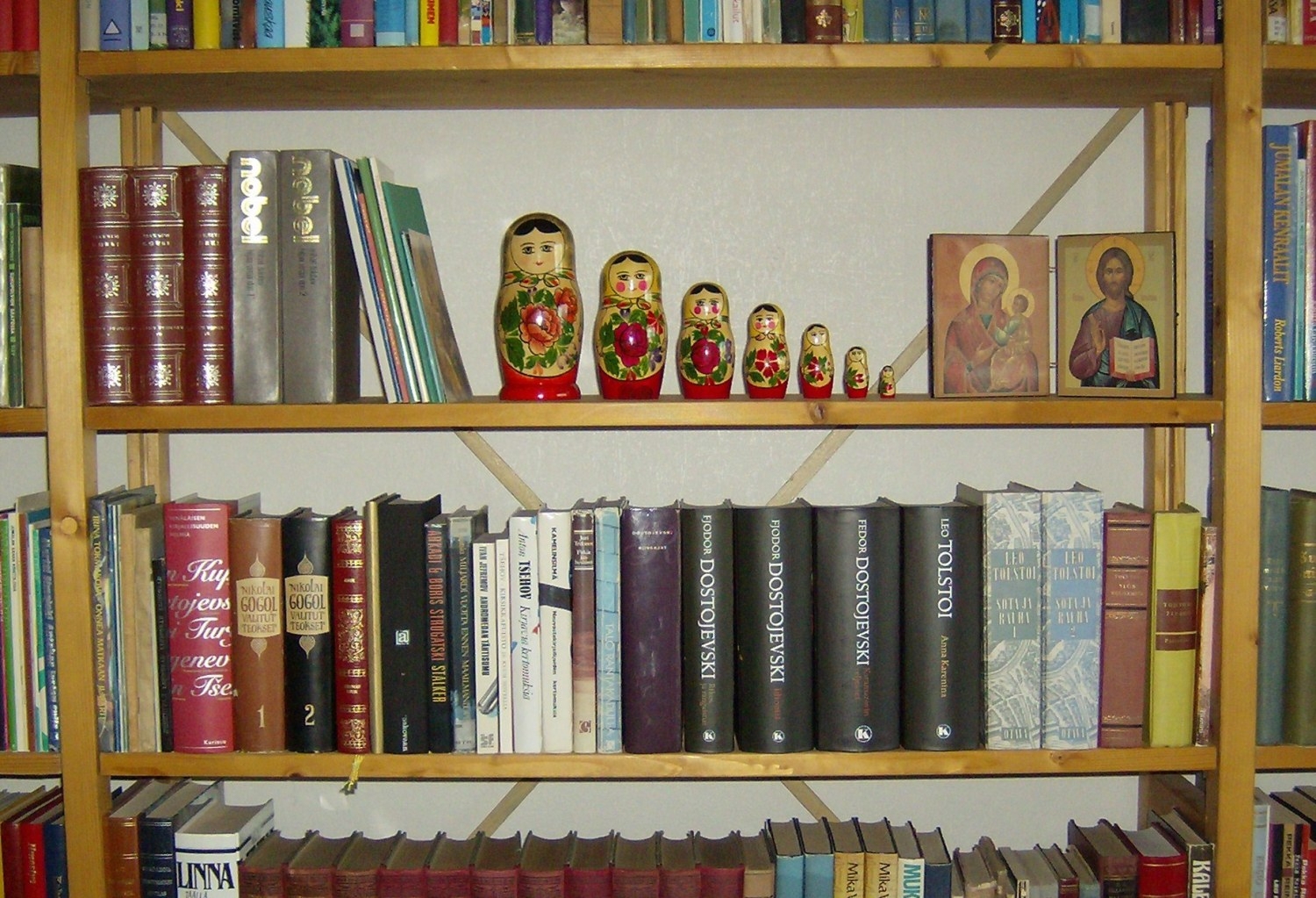 russian literature Literatures in russian majors will take 3 language courses (ltru 104 a, b, and  c), and the three courses that constitute the russian literature series (ltru 110 .