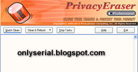 Privacy Eraser Pro 9.2.0 Serial Key Mediafire link ...