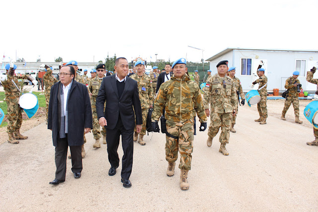 Menhan RI kunjungi Prajurit TNI Konga XXIII-J/Unifil di Lebanon