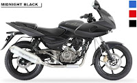 Bajaj Pulsar 220F Midnight Black color