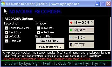 N3 Mouse Recorder