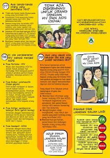 Leaflet HIV/AIDS sasaran Mahasiswa