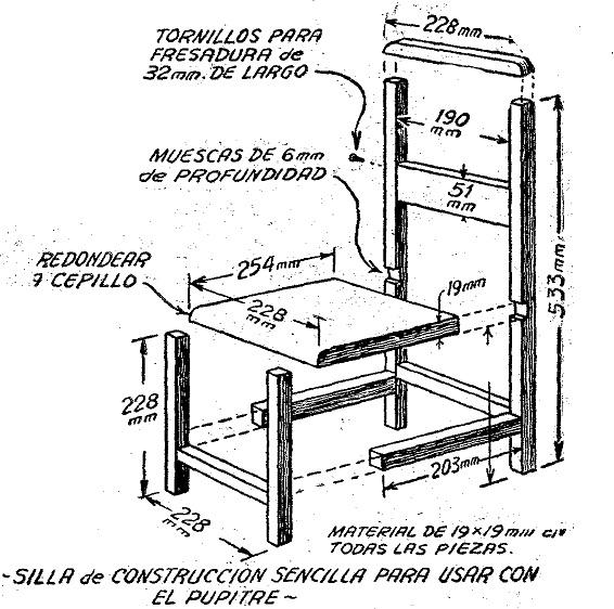 Proyecto de innovaci n la silla push junio 2013 - Como se elabora una silla de madera ...