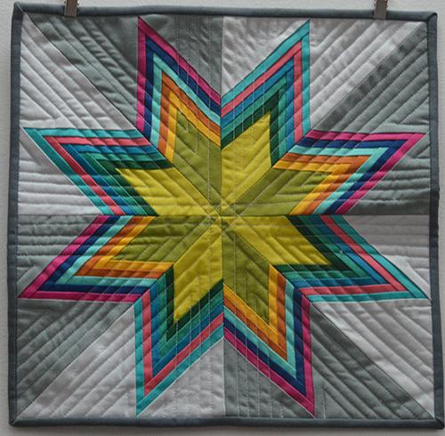 Striped Starburst Quilt