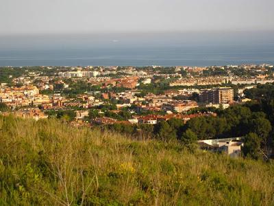 Castelldefels from Cal Ganxo