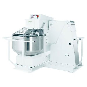 DISCON 50 % | Doyon AB100 225 qt Tilt Over Dough Mixer - Features, Benefits , Specifications