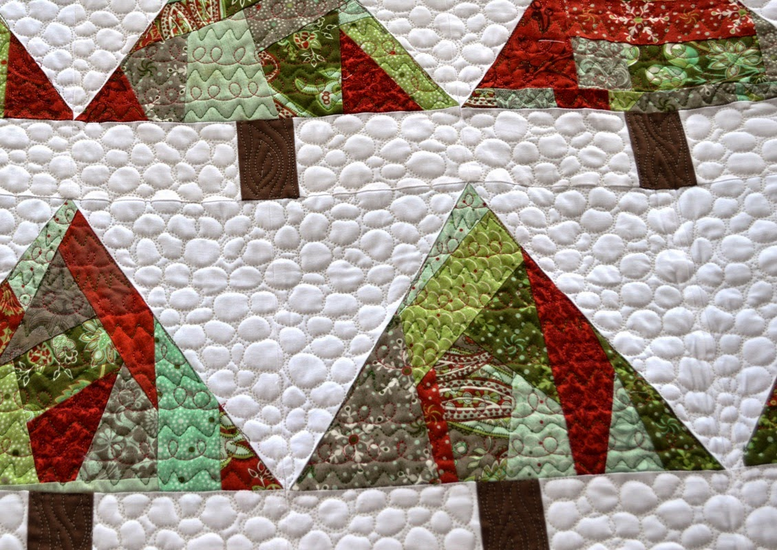 Happy Quilting: O Christmas Trees - A Finish