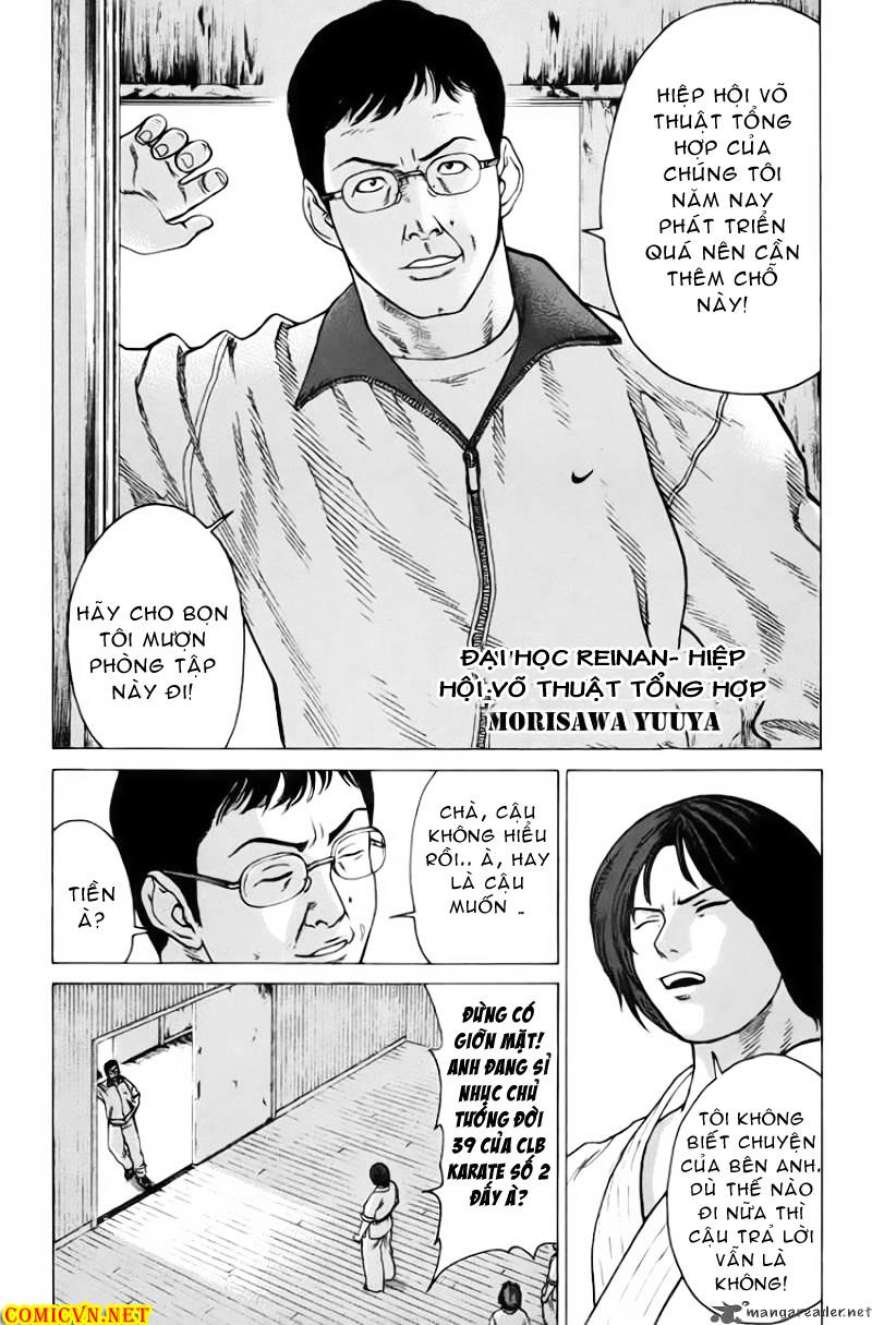 Karate Shoukoushi Kohinata Minoru chap 32 Trang 6