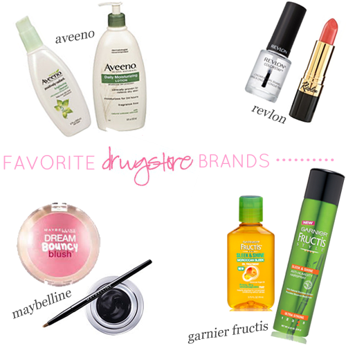 best drugstore beauty brands, revlon, CVS beauty, drugstore beauty deals, drugstore beauty finds, garnier fructis wonder waves, maybelline gel liner review, aveeno lotion review, maybelline dream bouncy blush review