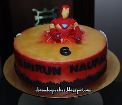 Ironman Cake