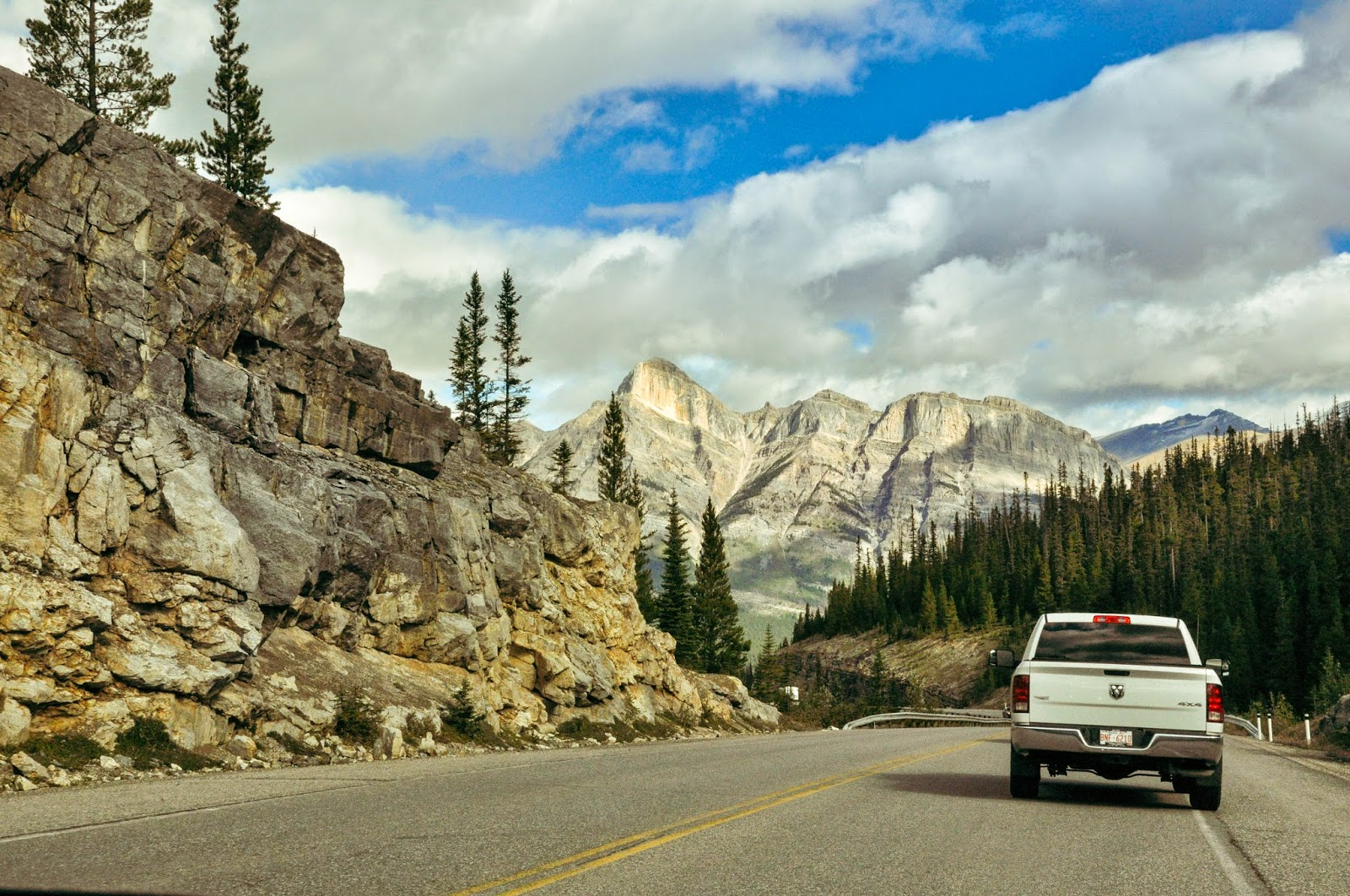 Road trip to Banff, rockies.