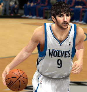 Rick Rubio Face Patch for NBA 2K13 PC