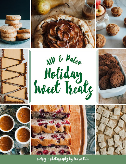 AIP & Paleo Holiday Sweet Treats e-book by Laura Vein