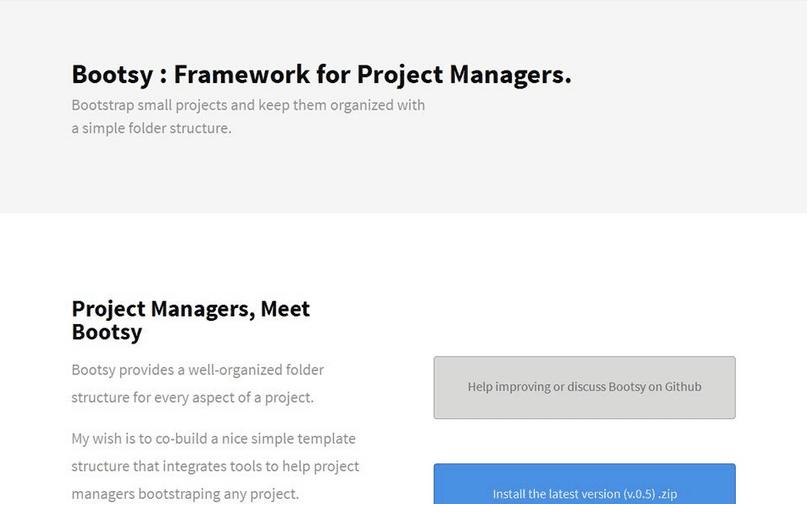 bootsy-framework