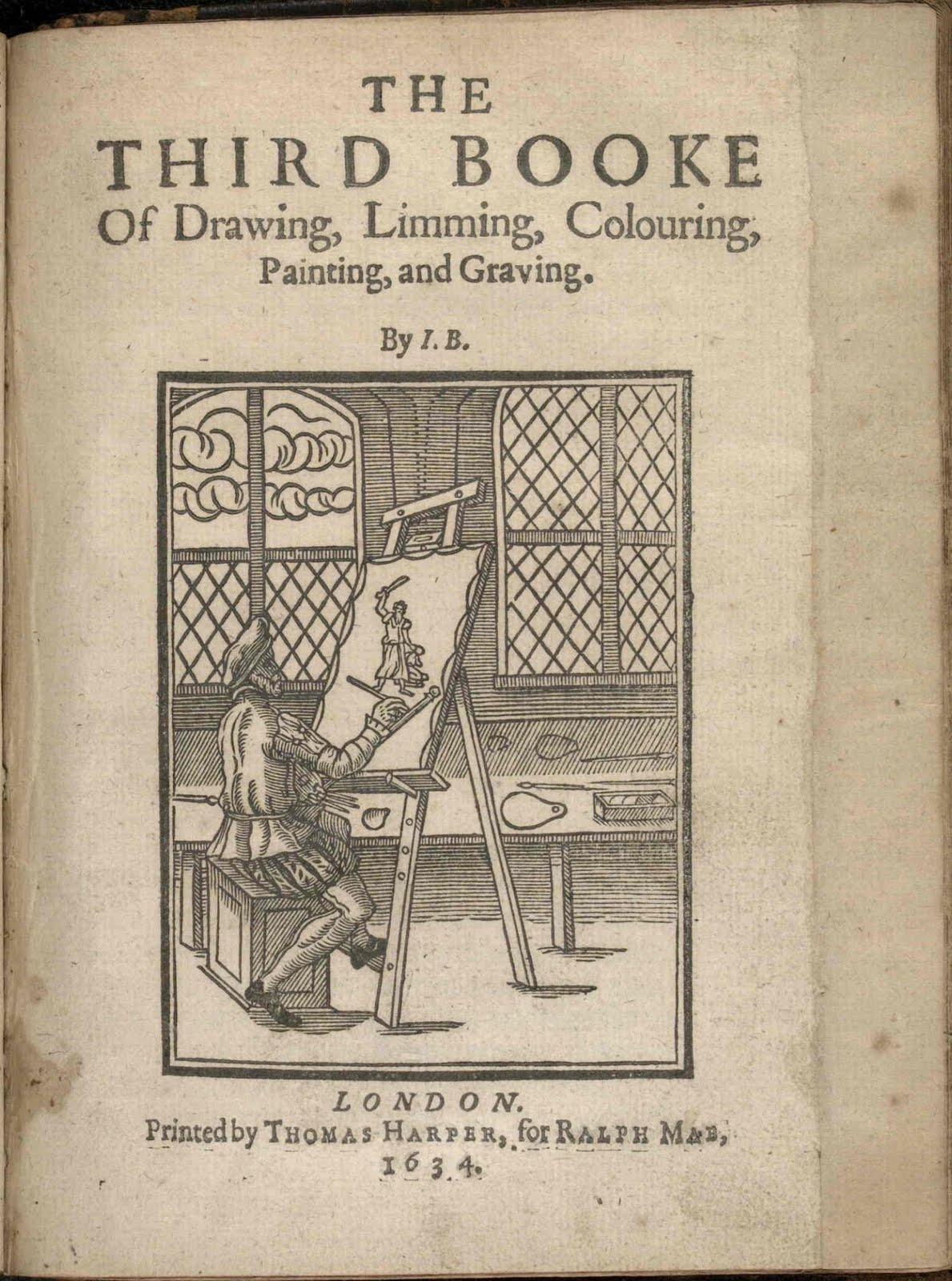 chapter 3 titlepage John Bate 1634 book