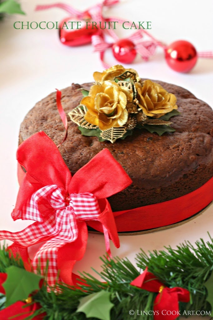 Fruit cake with Chocolate