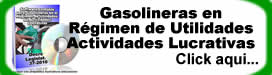 Gasolineras en Régimen Utilidades