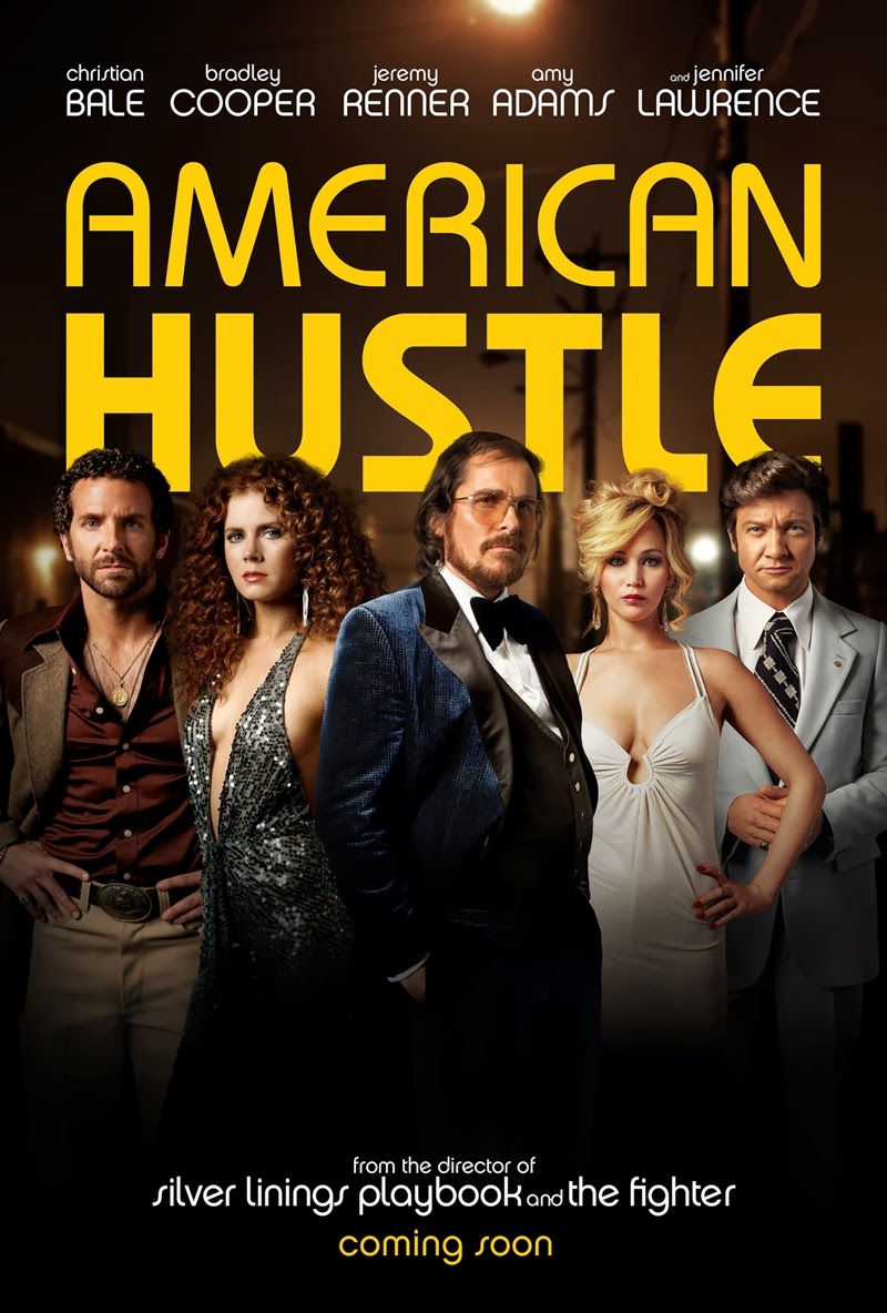 Săn Tiền Kiểu Mỹ - American Hustle 2014 Poster