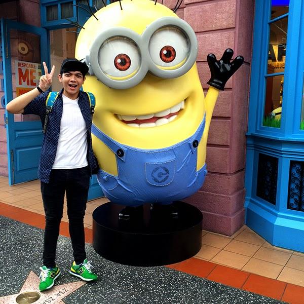 Universal Studio Singapore #thinkbigAGT