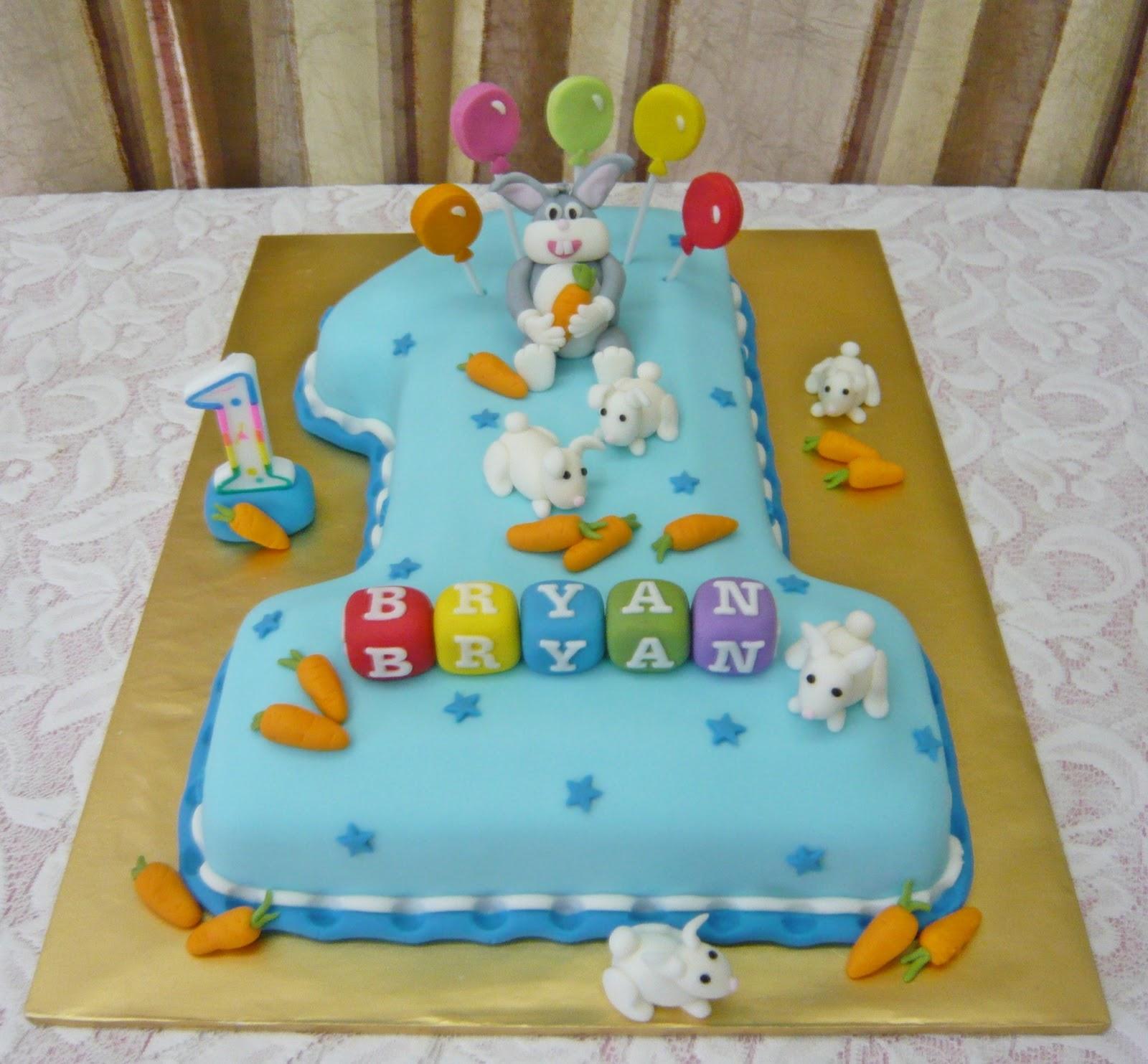 Jenn Cupcakes Muffins No 1 Bugs Bunny Cake