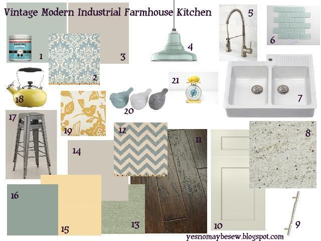 Kitchen Mood Board Yes No Maybe Sew