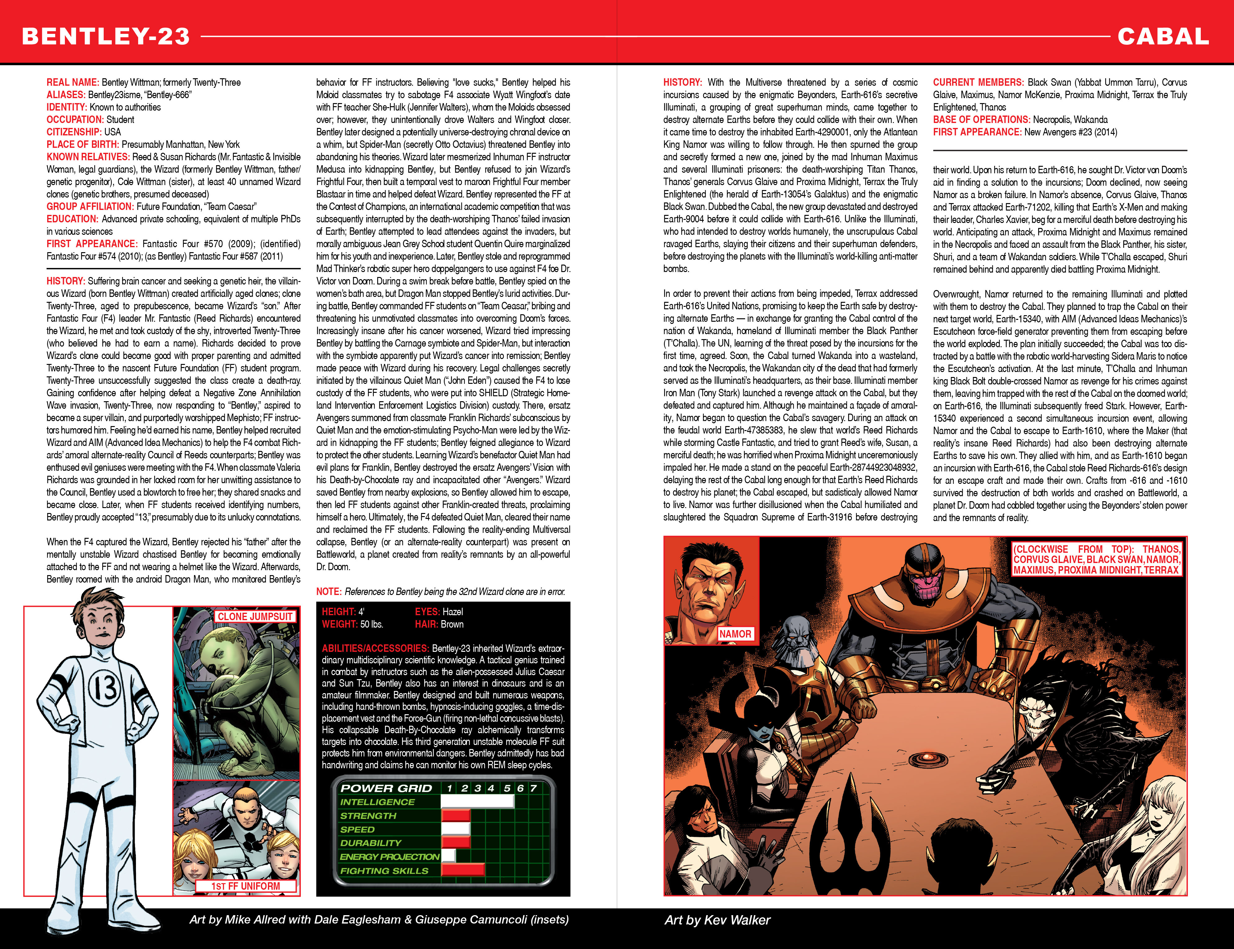 Read online Secret Wars: Official Guide to the Marvel Multiverse comic -  Issue # Full - 5