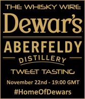 Dewar's Aberfeldy Tweet Tasting