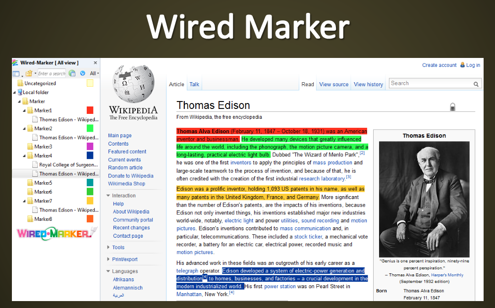 Wired Marker - Firefox Add-on