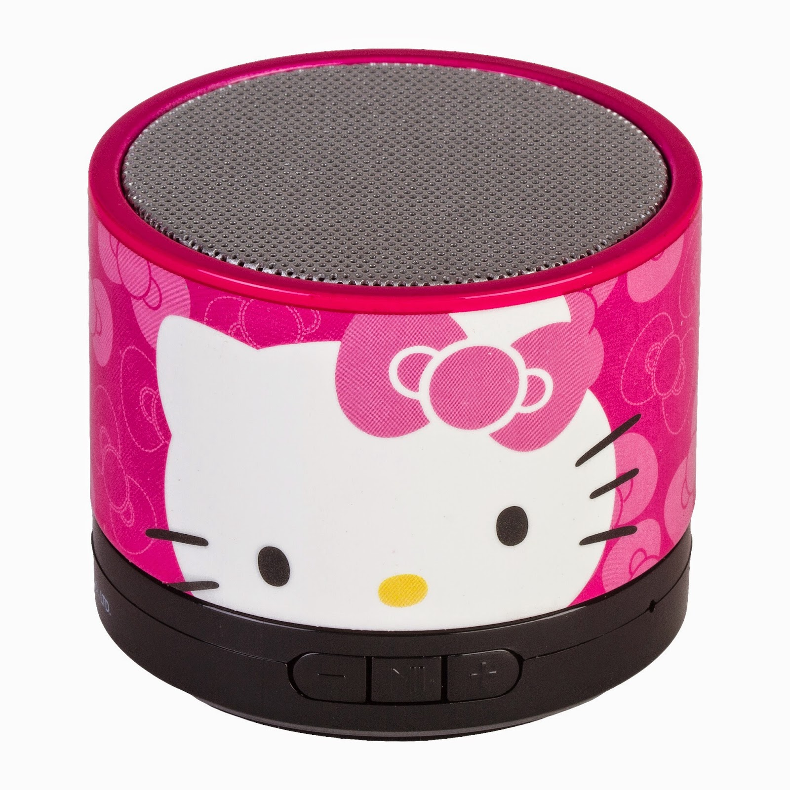 a ladybug on the go hello kitty bluetooth wireless speaker system review. Black Bedroom Furniture Sets. Home Design Ideas