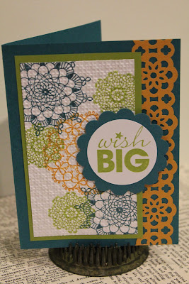 Delicate Doilies, Stampin' Up, In Colors