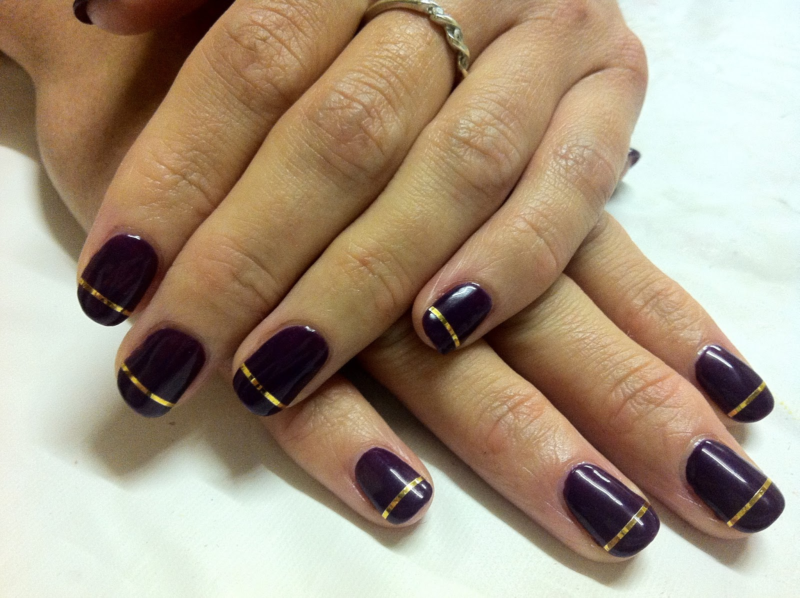 Brush Up And Polish Up Cnd Shellac Nail Art Rock Royalty And A