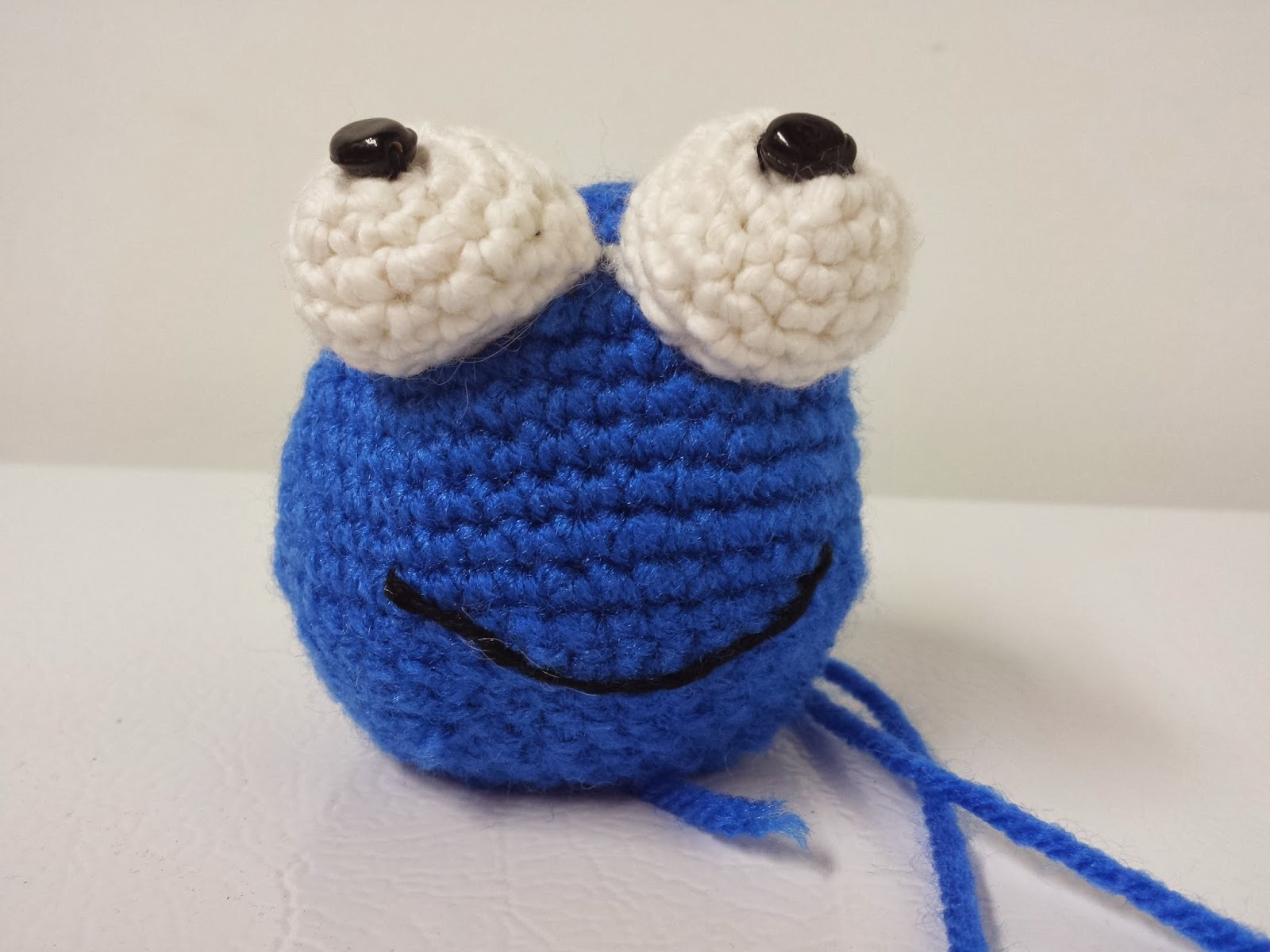 Amigurumi Cookie Monster Pattern : The L-T Experience: Cookie Monster Amigurumi