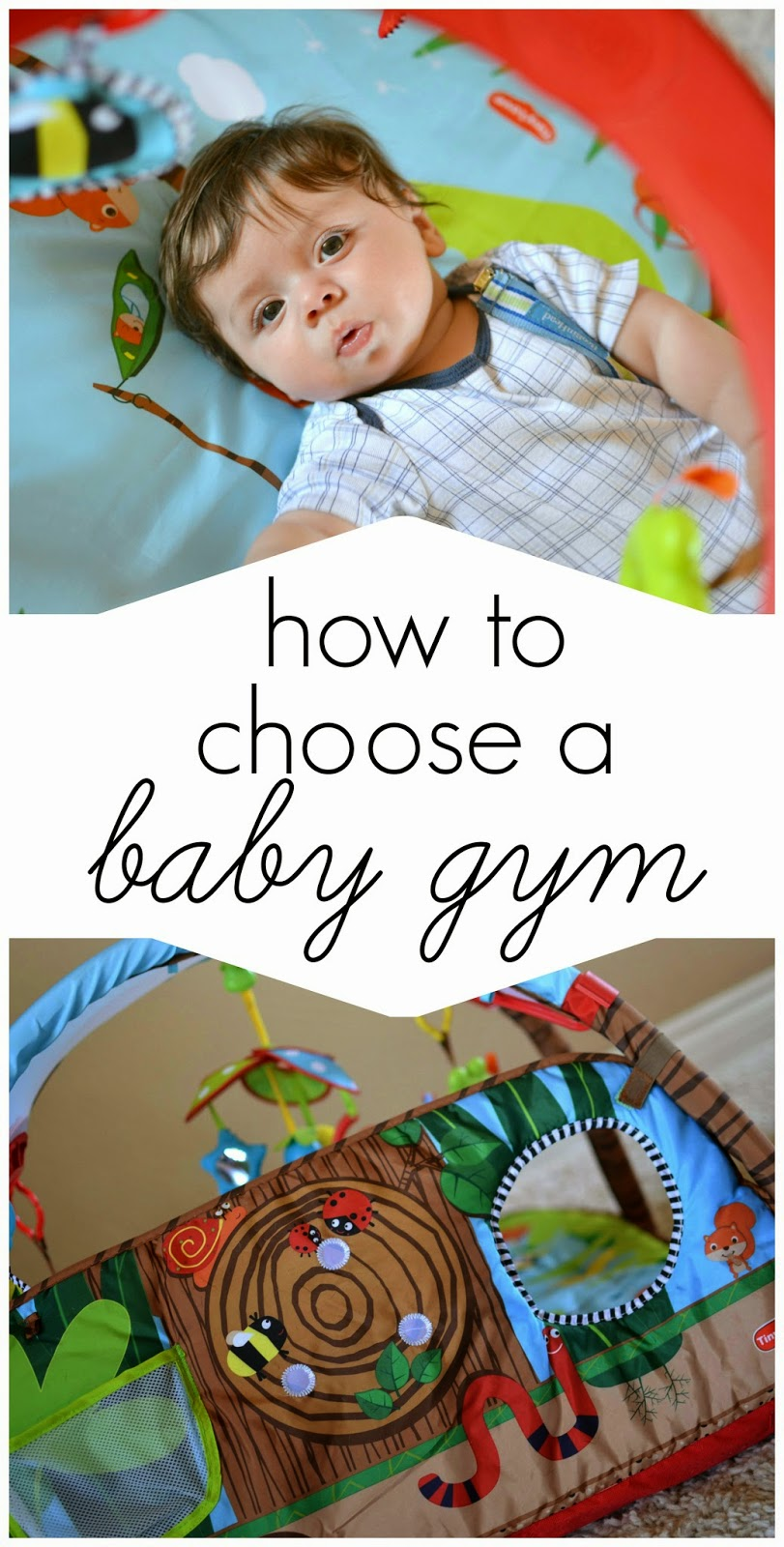 Mommy Testers, How to choose a baby gym, what to look for in a baby gym, tiny love gymini developlace, gymini developlace review