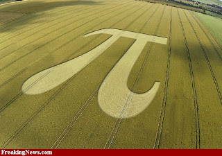 pi crop circles