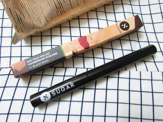 Sugar Cosmetics Told You So! Eyeliner reviewprice india, jet black eyeliner, heat proof smudge proof  eyeliner, sugar cosmetics india online, delhi blogger, delhi beauty blogger, indian blogger, indian beauty blogger,beauty , fashion,beauty and fashion,beauty blog, fashion blog , indian beauty blog,indian fashion blog, beauty and fashion blog, indian beauty and fashion blog, indian bloggers, indian beauty bloggers, indian fashion bloggers,indian bloggers online, top 10 indian bloggers, top indian bloggers,top 10 fashion bloggers, indian bloggers on blogspot,home remedies, how to