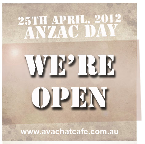 whats open on anzac day - photo #19