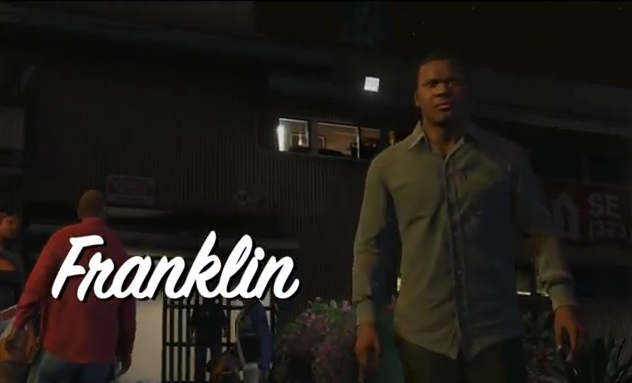 GTA V Franklin