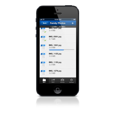 BitTorrent Sync for iOS
