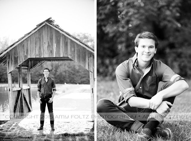 senior boy session at Fowler Park in Terre Haute, Indiana