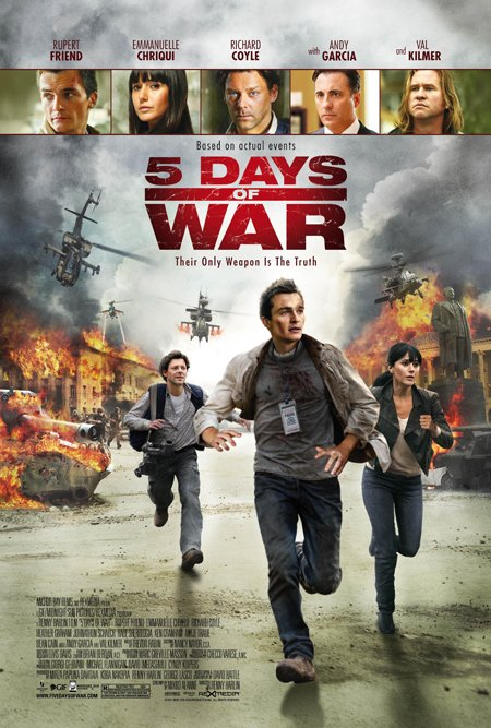 5 DAYS OF WAR MOVIES