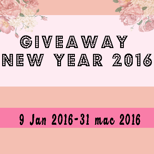 Giveaway New Year 2016