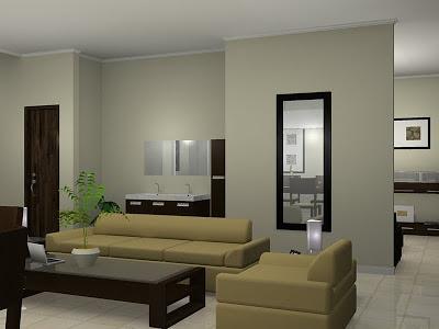 Desain Ruang Tamu Rumah Minimalis Modern Sederhana 2014